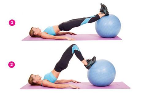 Stability-Ball-Hamstring-Curl