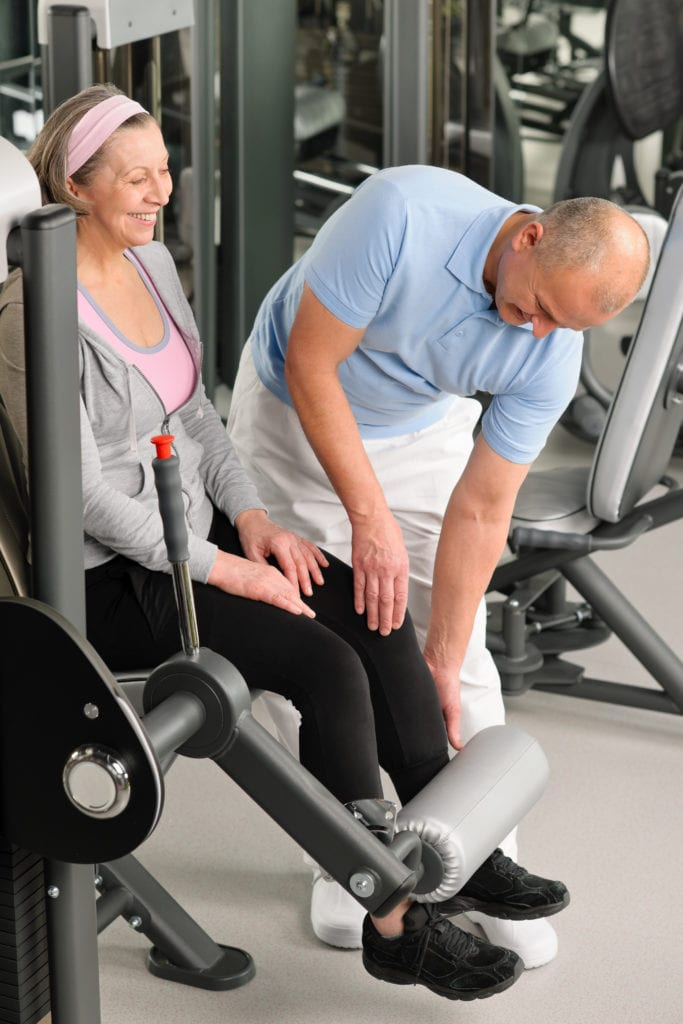 Eldre og personer i rehabilitering kan ha stor glede av apparater.
