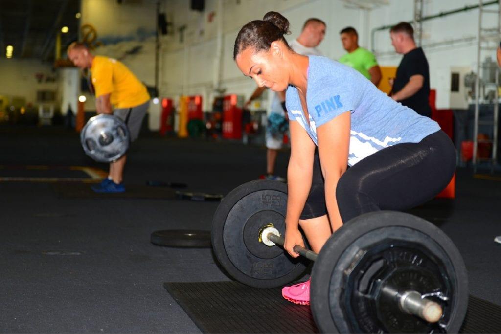 Markløft setter fart på fettforbrenningen og trener store deler av kroppen.