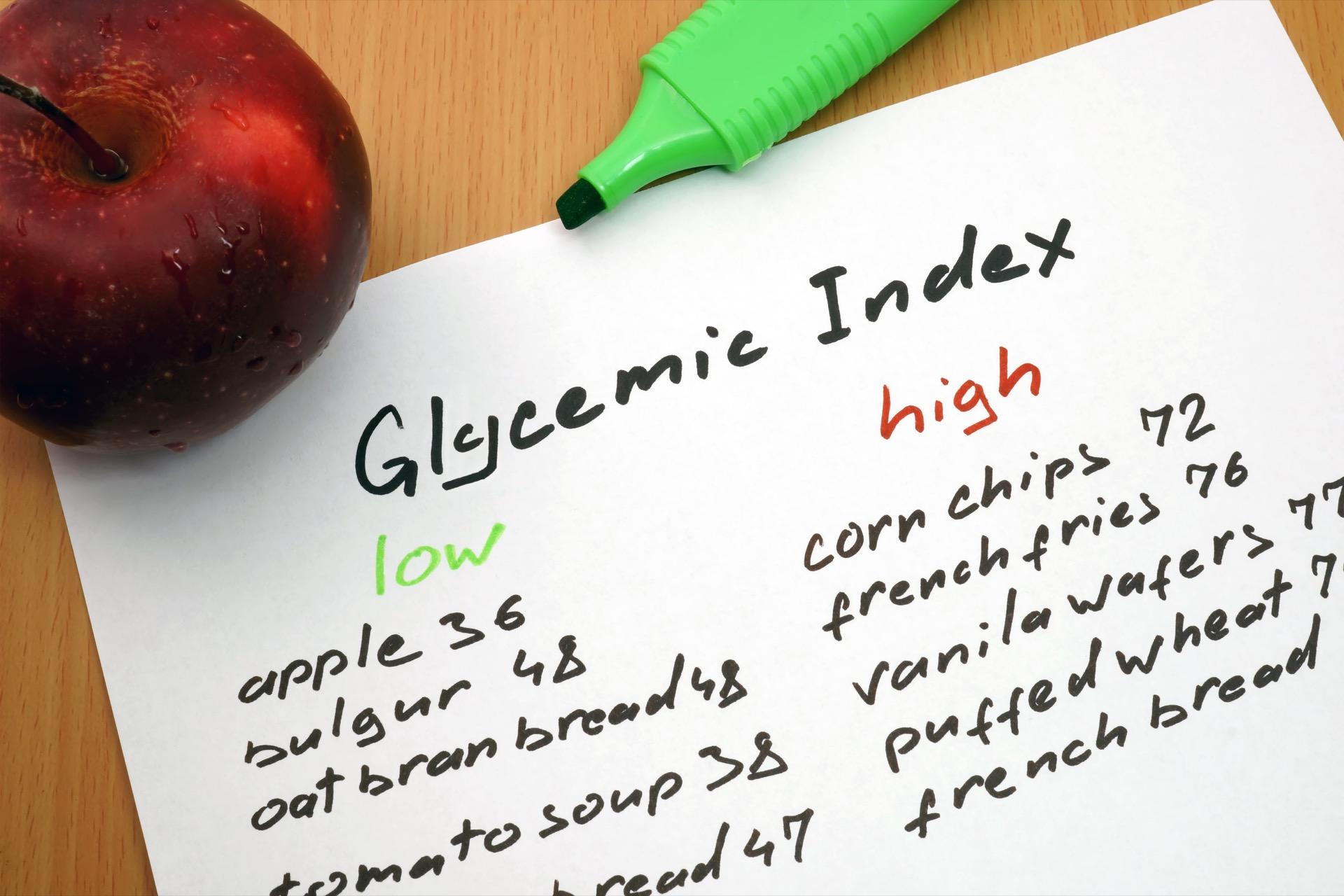 glykemisk indeks (GI)