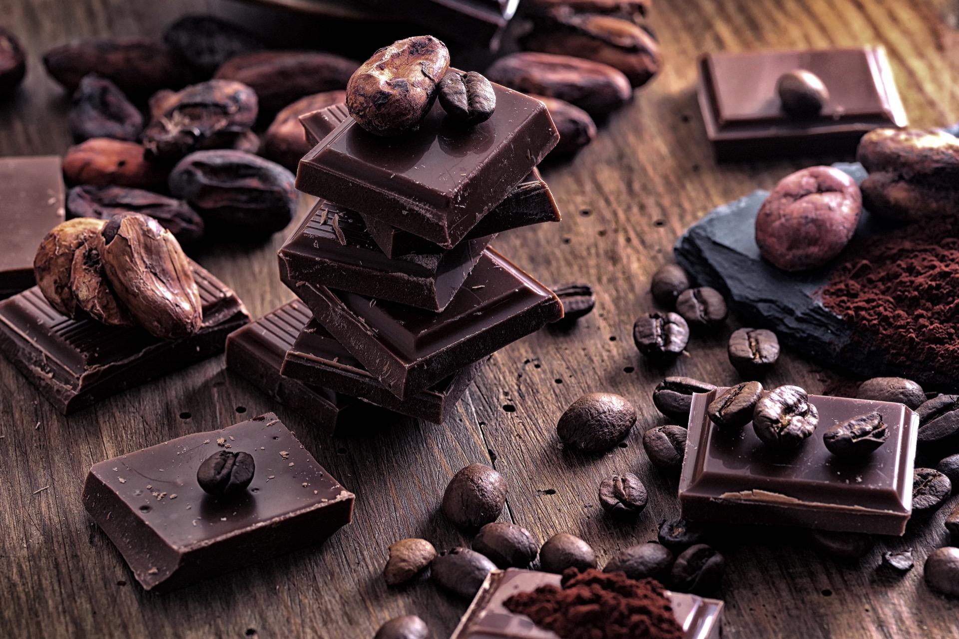mørk sjokolade sunt