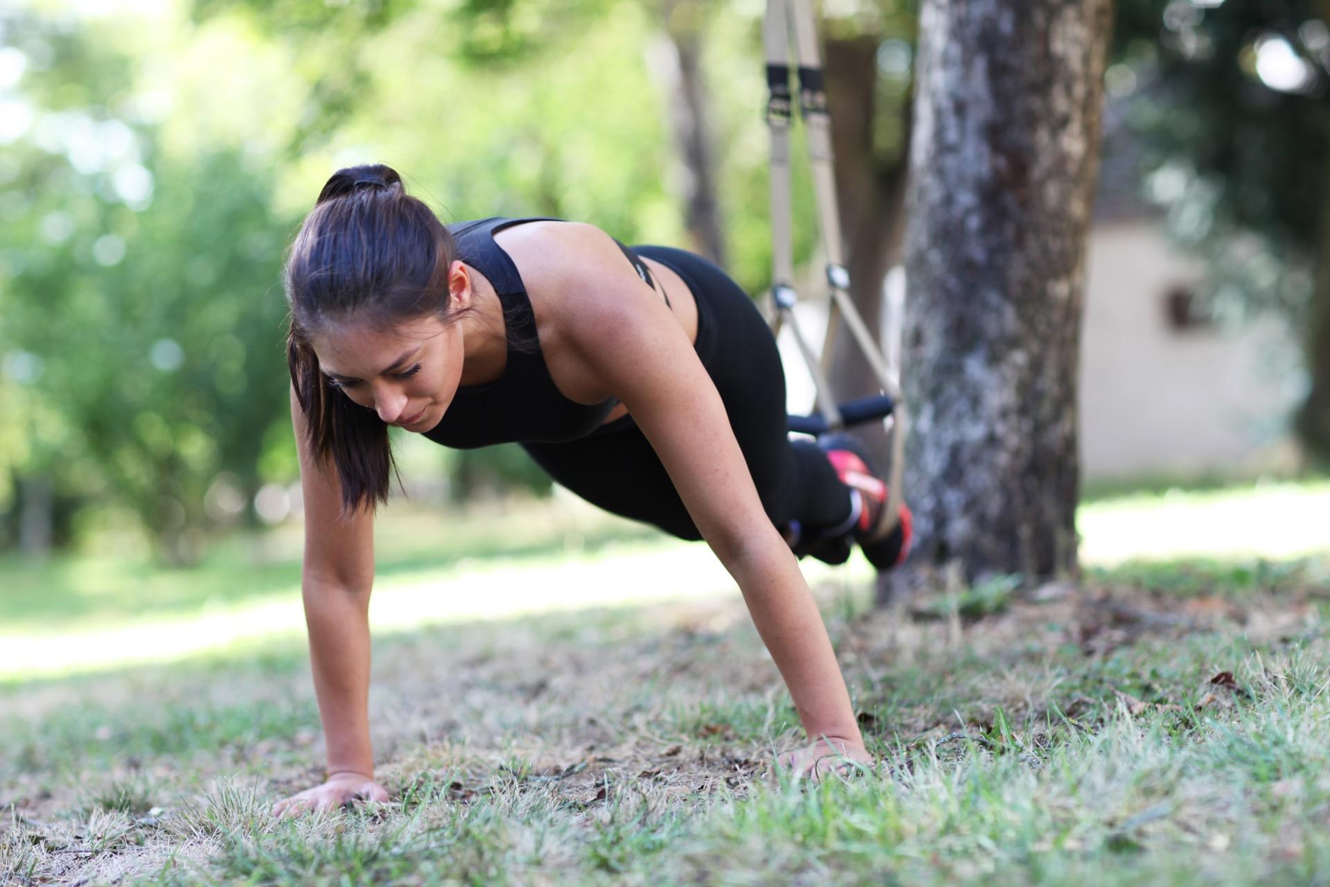 trening utendørs