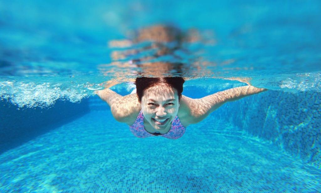 treningseffekt svømming