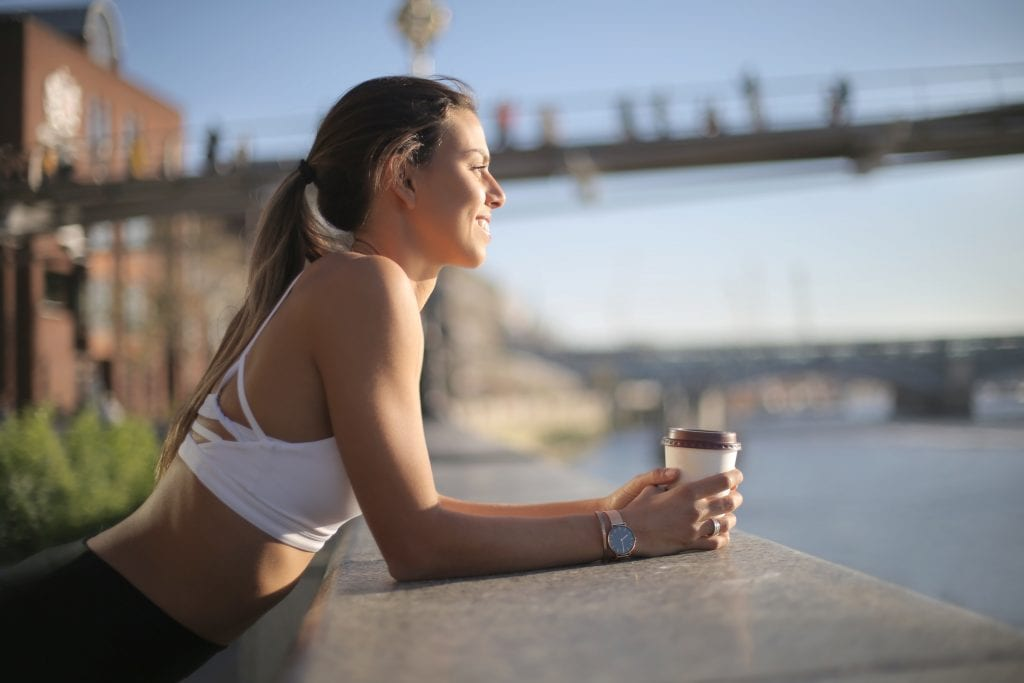 kaffeinntak trening