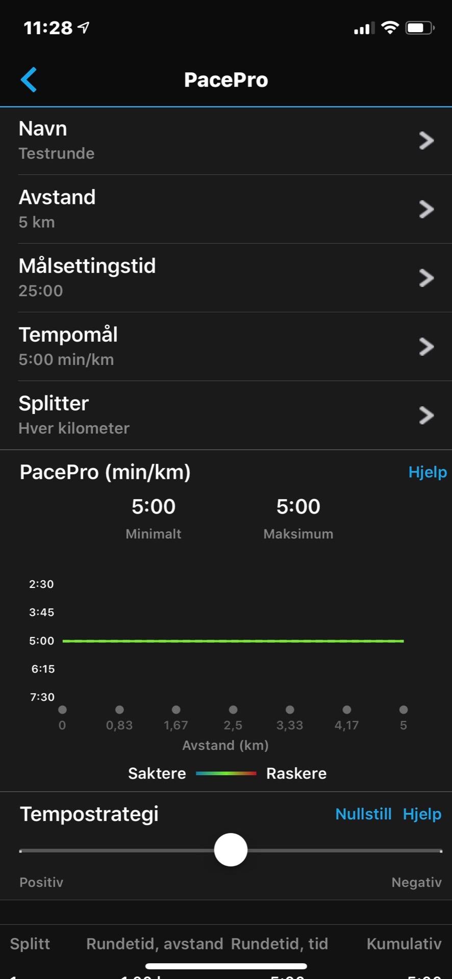 Garmin pace pro