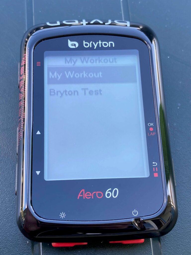 Bryton Aero 60 test