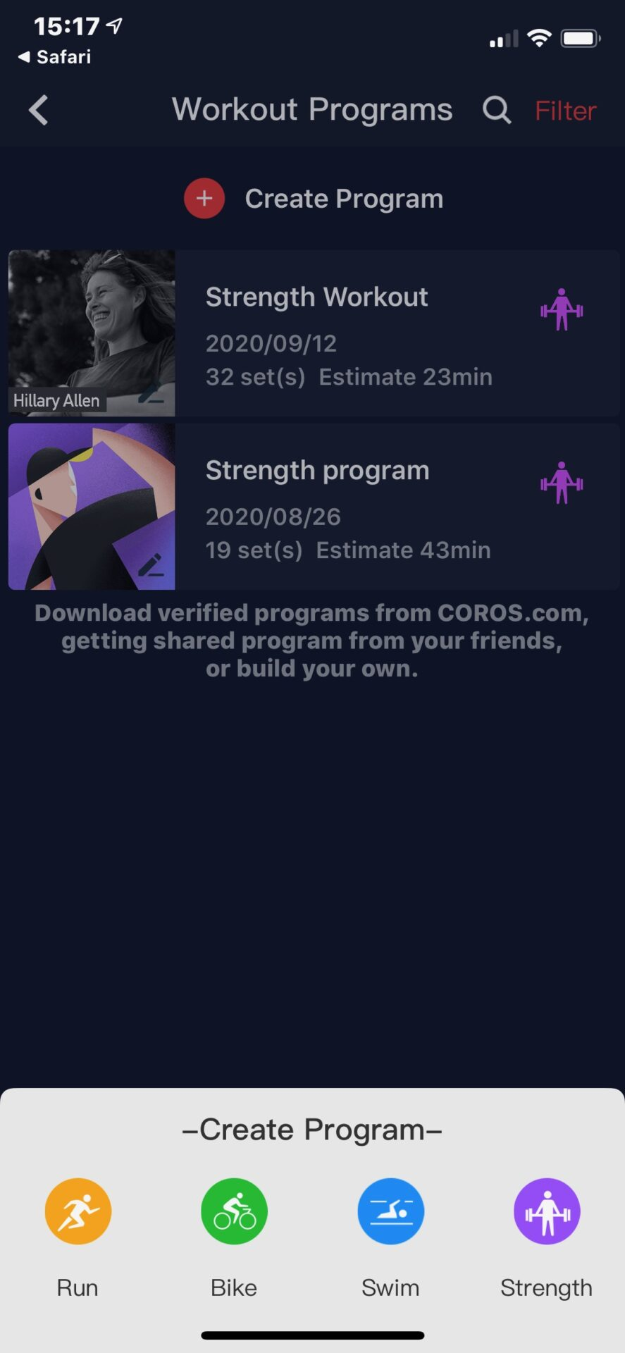 Coros Apex Pro test