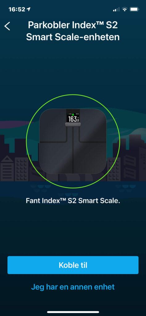 Garmin Index S2